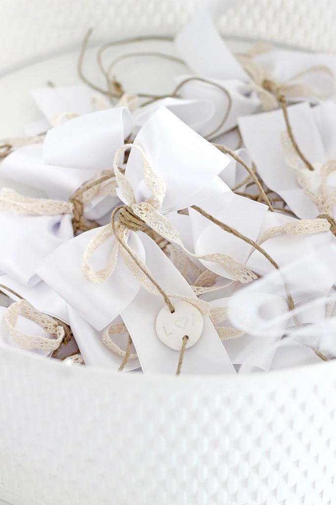 Autoschleifen für die Hochzeit selber machen