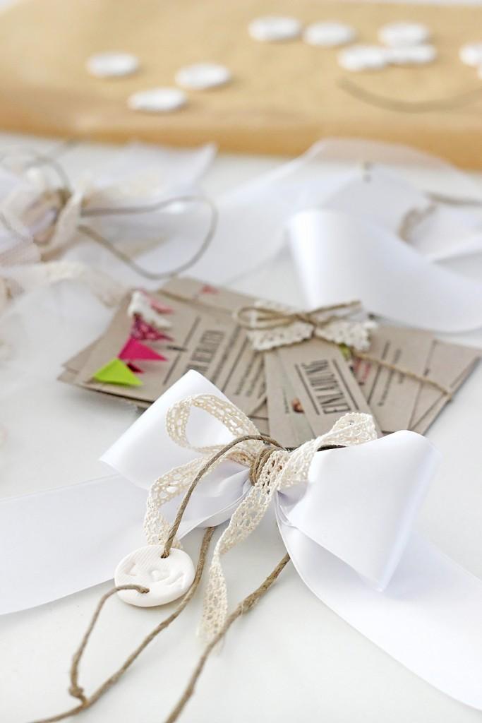 DIY Autoschleifen für die Hochzeit