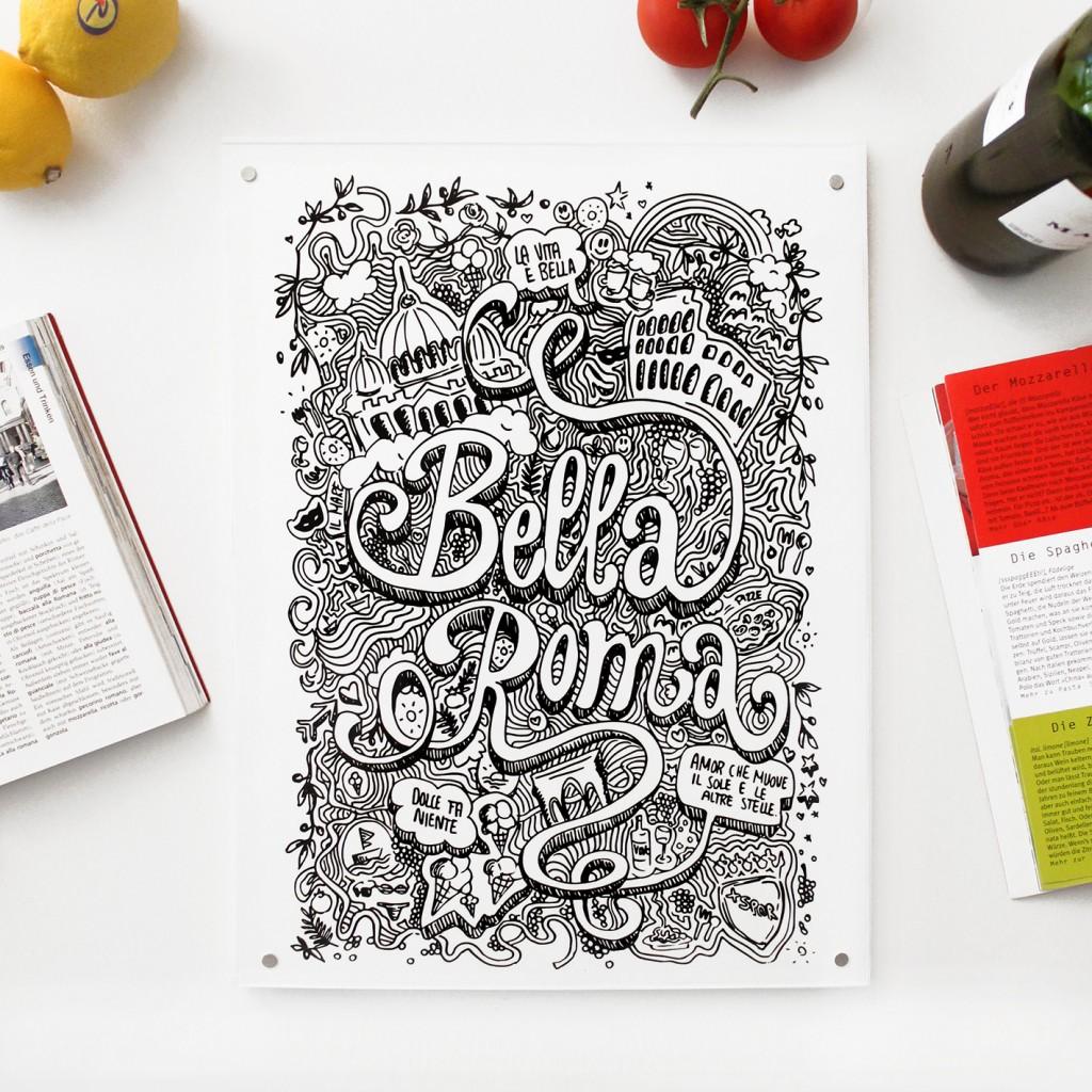 städteplakat-rom-typografie
