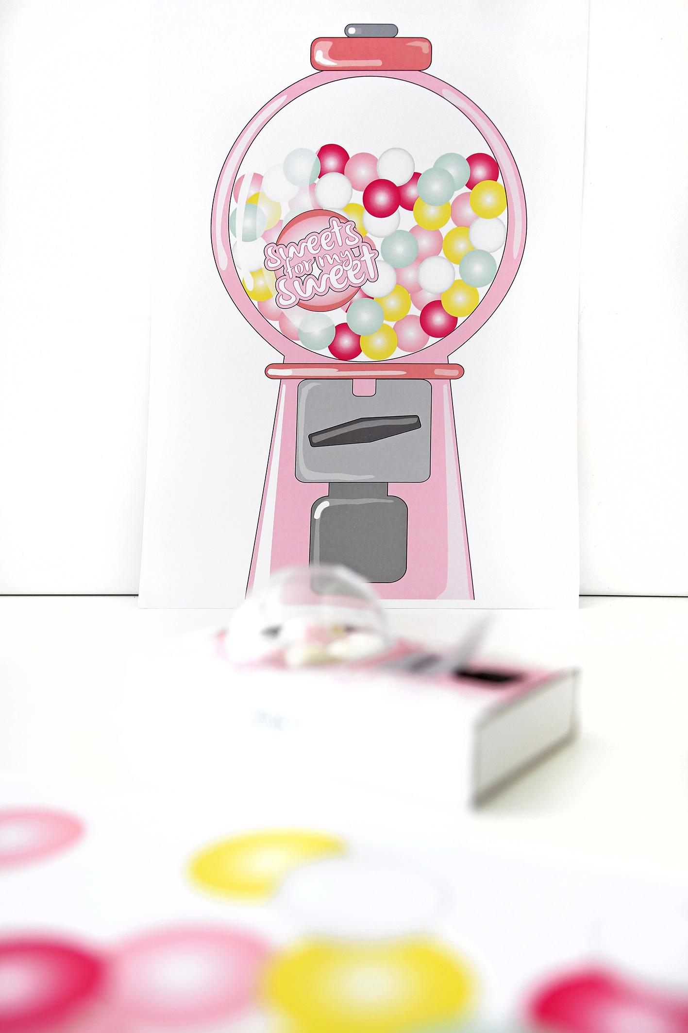 diy f r kinder kaugummiautomat aus streichholzschachteln. Black Bedroom Furniture Sets. Home Design Ideas