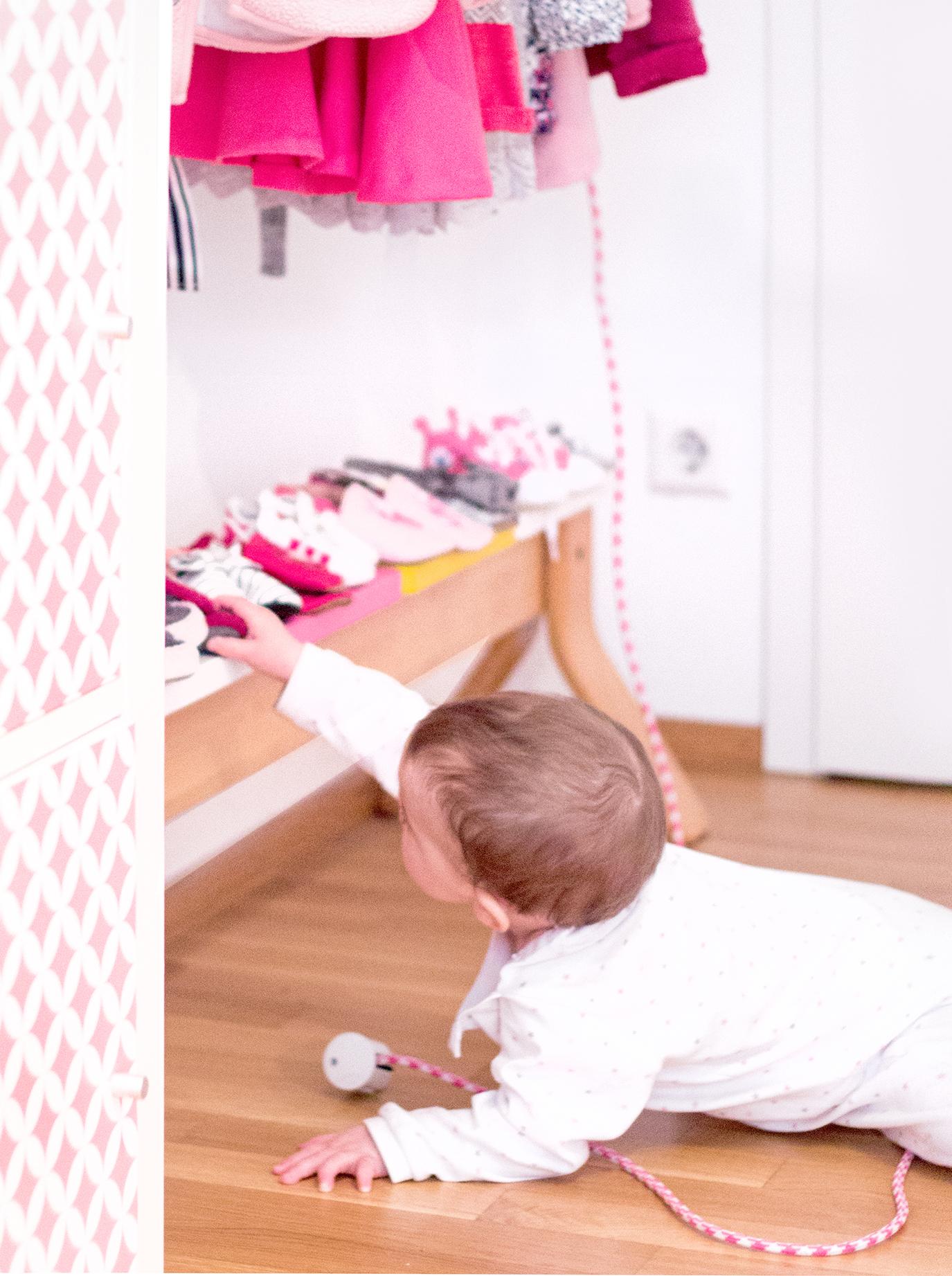 Schuhregal für Kinder