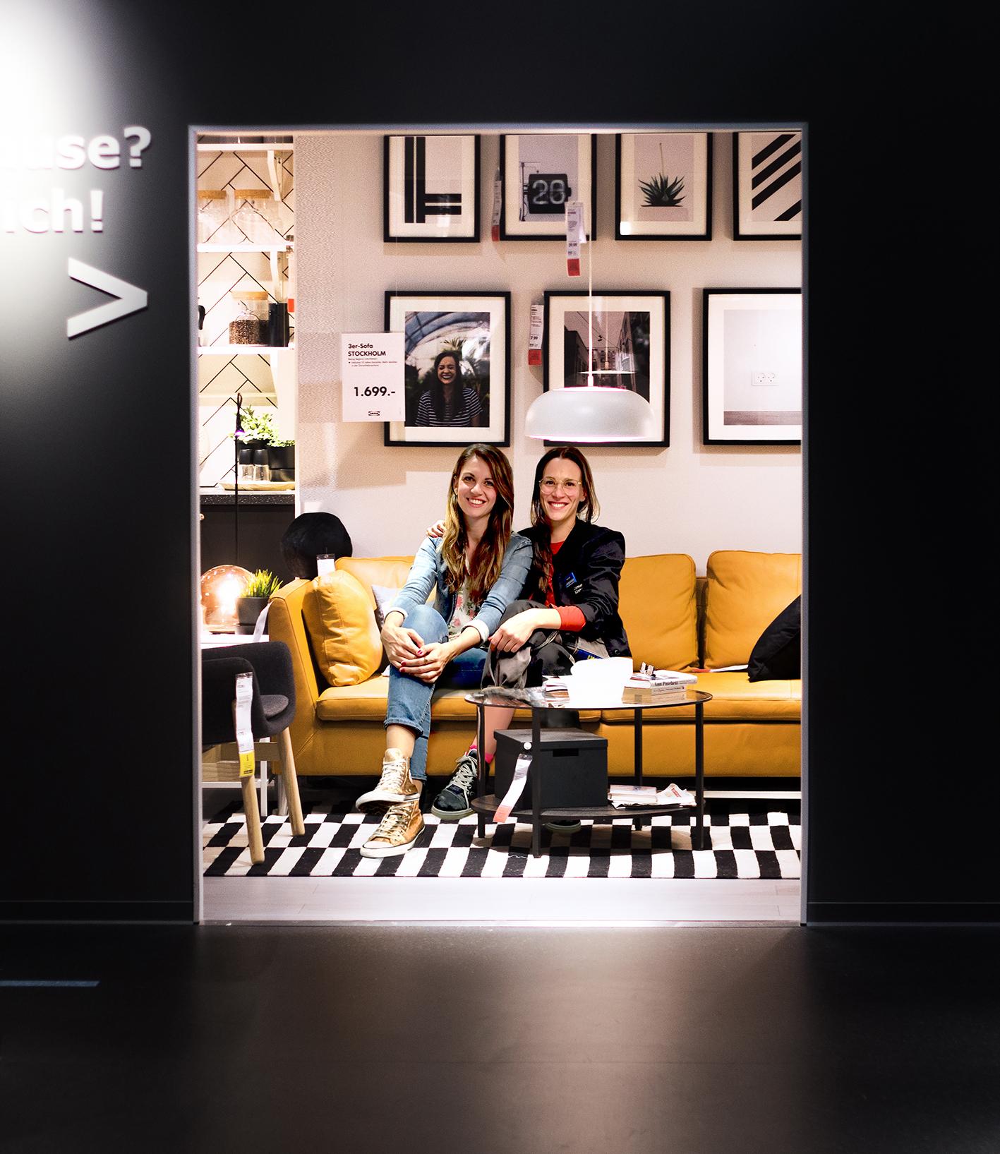 Sammy von Sammydemmy und Anna von Ikea