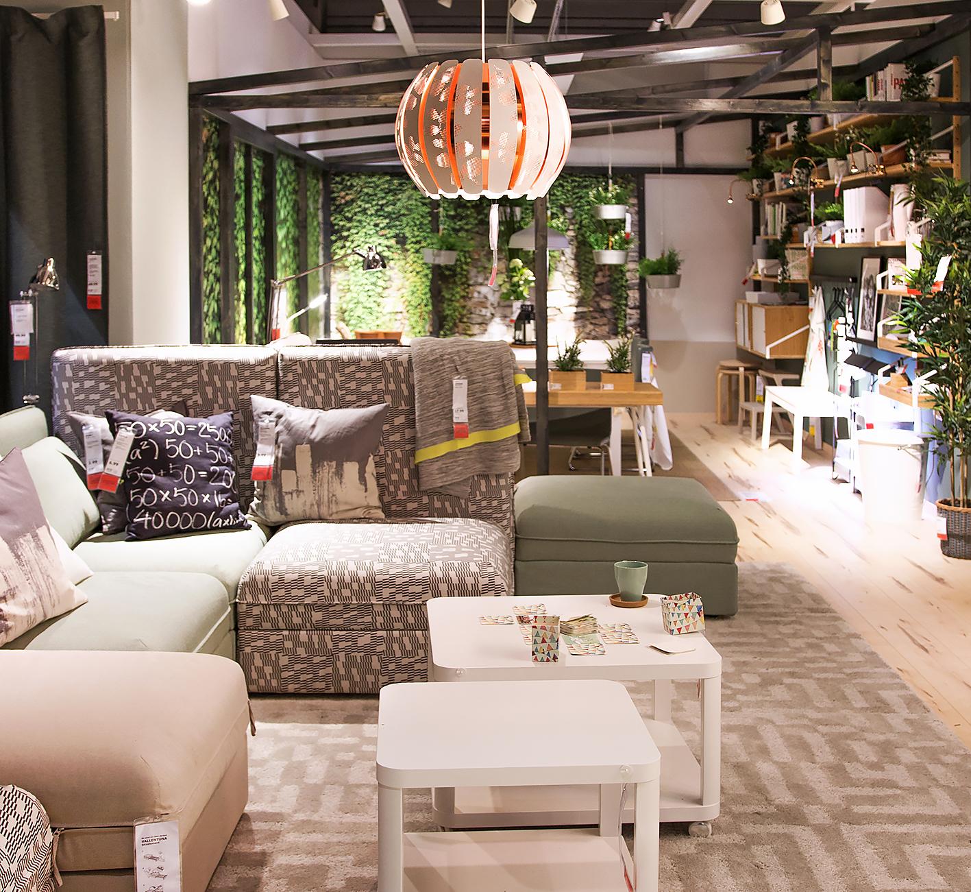 Urban Jungle Bloggers Wohnzimmer Ikea Pflanzen Im