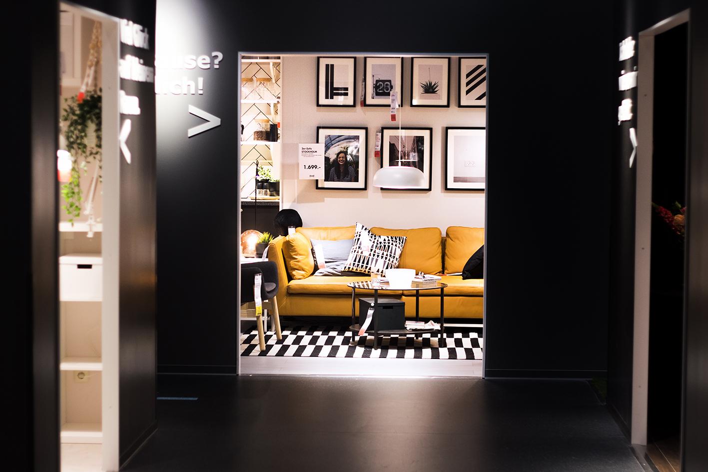 echtes wohnfeeling bei ikea sindelfingen. Black Bedroom Furniture Sets. Home Design Ideas