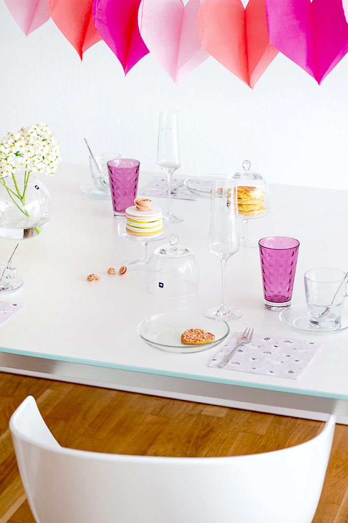 Tischdeko Muttertag