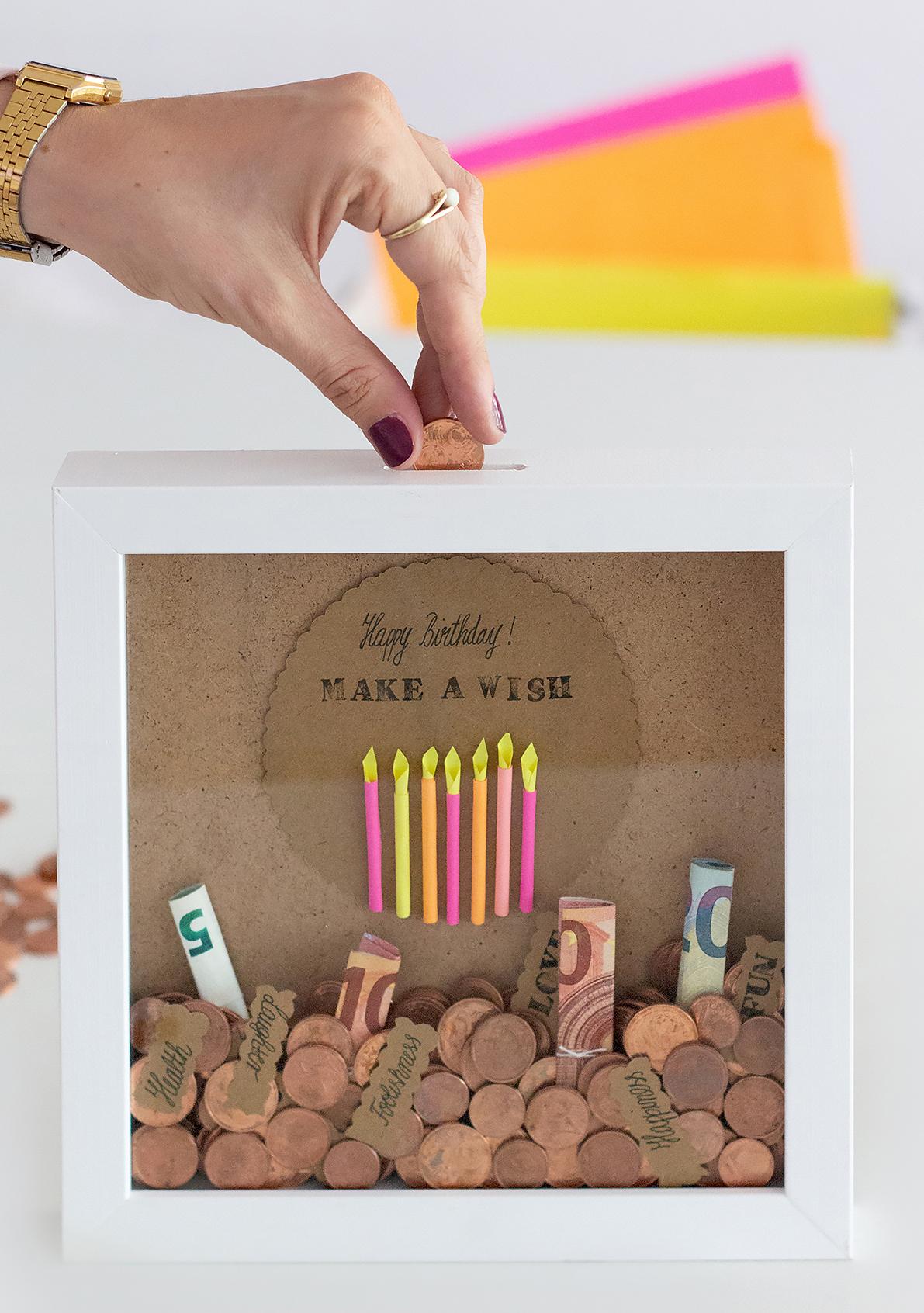 Geldgeschenke zum 25 geburtstag