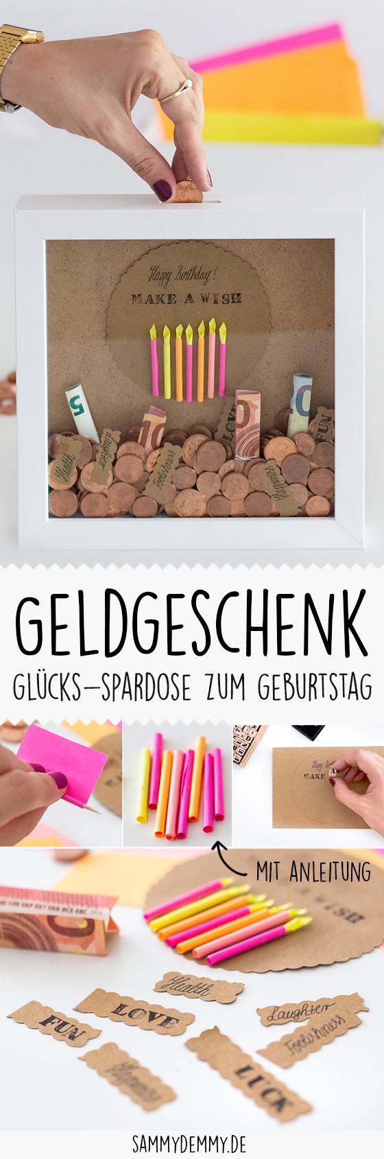 Diy Geschenkidee Geldgeschenk Fur Hochzeit Und Geburtstag